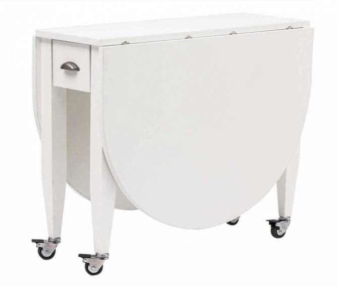 Tavolini trasformabili a roma tavoli consolle a roma for Consolle allungabile laccata bianca
